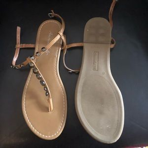 American Eagle studded sandals